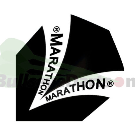 Harrows Marathon zwart-wit flight