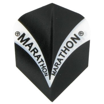 Harrows Marathon Std.6 Black flight