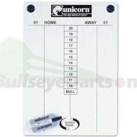 Unicorn Scorebord incl. stift & wisser