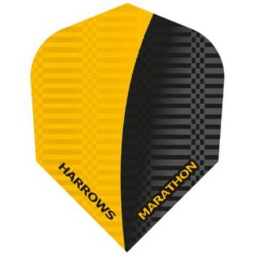 Harrows Marathon Yellow Black flight