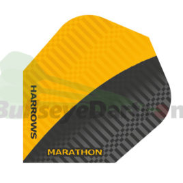 Harrows Marathon Geel-Zwart flight