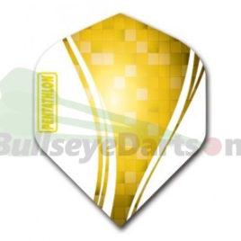 McKicks Pentathlon Swirl geel flight