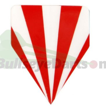 McKicks Delta flight rood wit strepen