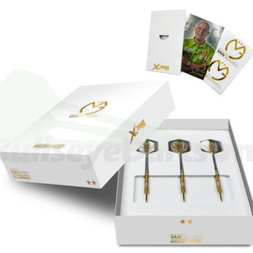 Michael van Gerwen World Champion. Limited Edition Gold 90% tungsten