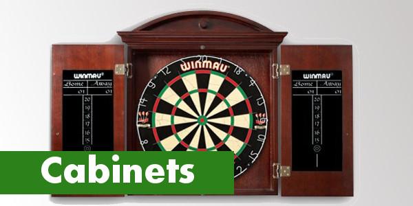 Alle dartkabinetten van Bullseye Darts