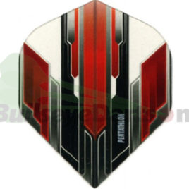 Pentathlon Vision abstract rood