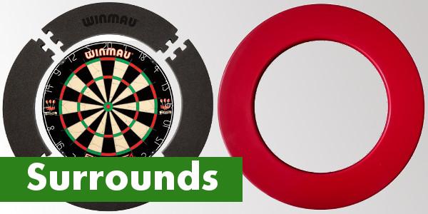 Alle dart surrounds van Bullseye Darts