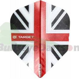 Target Vision Union Jack rood