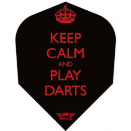 Bull's Powerflite Keep Calm and Play Darts flight