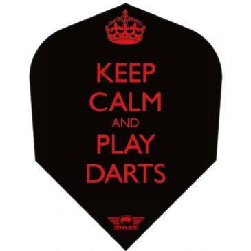Bull's Powerflite Keep Calm and Play Darts flight