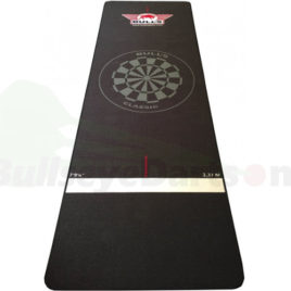Bull's Carpet Dartmat 300x95 cm Black
