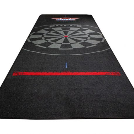 Bull's Carpet Dartmat 300×95 cm Black without oche