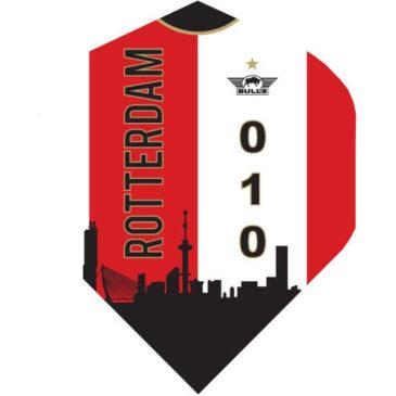 Bull's Powerflite Rotterdam Shirt Skyline Red flight