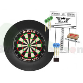Surround Dartboard Pro Set zwart