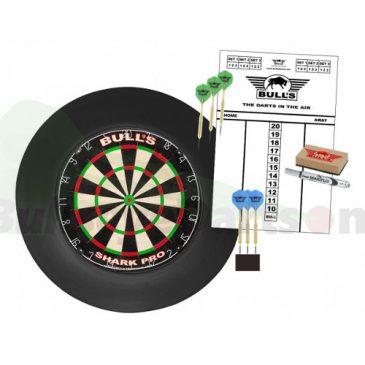 Surround Dartboard Pro Set zwart