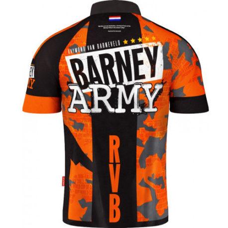 Target Barney Army 2019 Dartshirt achterkant