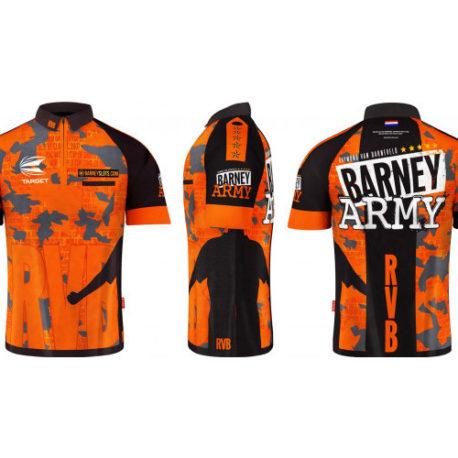 Target Barney Army 2019 Dartshirt overzicht