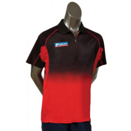 Unicorn Pro Dartshirt Black Red