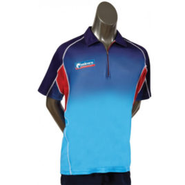 Unicorn Pro Dartshirt Blue Red