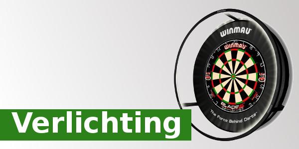 Alle verlichting voor dartbord van Dartshop Bullseye Darts