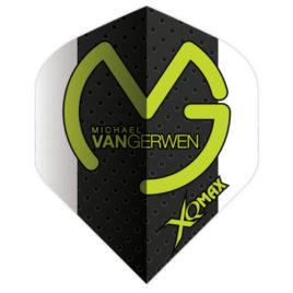 Michael van Gerwen Std. Black White Green logo