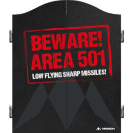 Mission Beware Area 501 Red Cabinet