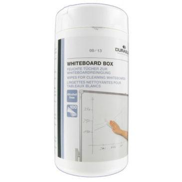 Whiteboard Wipe Box 100 stuks