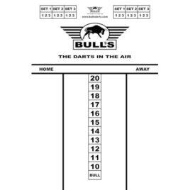 Bull's Budget Whitboard 45x30 cm