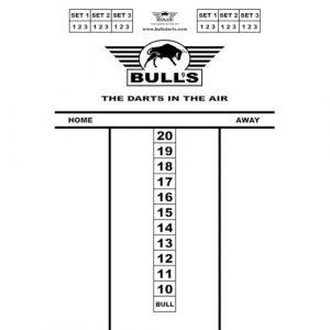 Bull's Budget Whitboard 45×30 cm