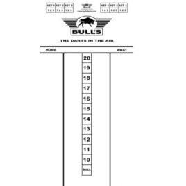 Bull's Budget Whitboard 60x30 cm