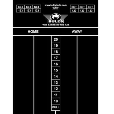 Bull's Chalk Board 60x45 cm scorebord