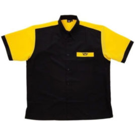 Bull's Dartshirt Black Yellow