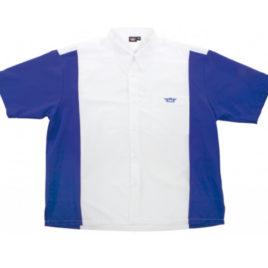 Bull's Dartshirt White Blue