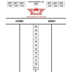 Bull's Darttel Flex Tactics 35×25 cm