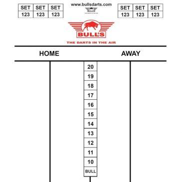 Bull's Darttel Flex Tactics 35x25 cm