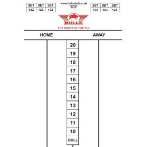 Bull's Darttel Flex Tactics 45×30 cm.