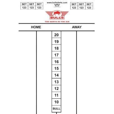 Bull's Darttel Flex Tactics 45x30 cm.