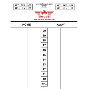 Bull's Darttel Flex Tactics 60×44 cm
