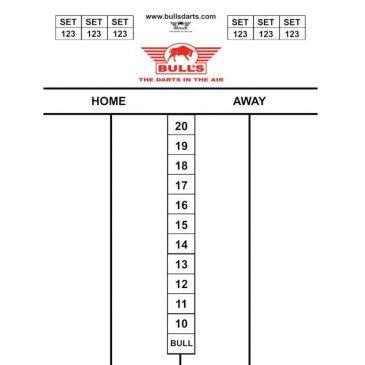 Bull's Darttel Flex Tactics 60x44 cm