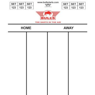 Bull's Darttel Flex 35x25 cm scorebord