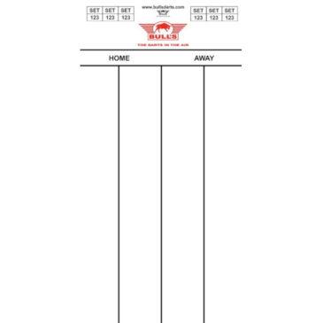 Bull's Darttel Flex 60x30 cm scorebord
