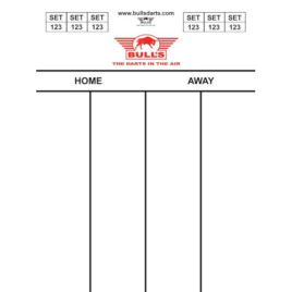 Bull's Darttel Flex 60x44 cm