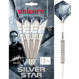 Silverstar Seigo Asada 80% tungsten dartpijlen