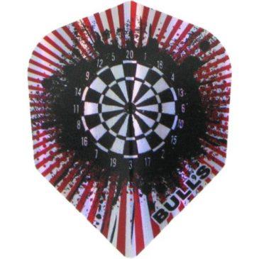 Diamond Std. Dartboard Red flight