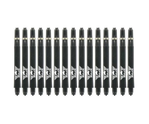 Nylon + Ring Black Shaft 5-pack Medium