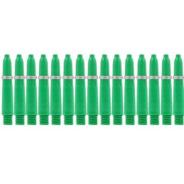 Nylon + Ring Green Shaft 5-pack x-short