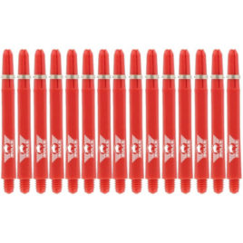 Nylon + Ring Red Shaft 5-pack