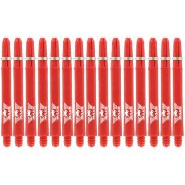 Nylon + Ring Red Shaft 5-pack