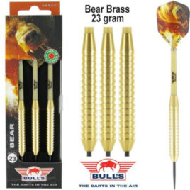 Bear Brass 23 gram dartpijlen