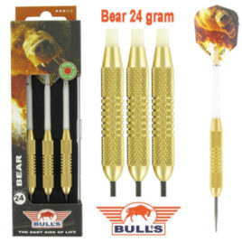 Bear Brass 24 gram dartpijlen